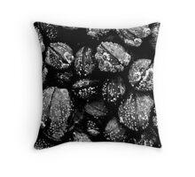 Knoydart Mussels Throw Pillow