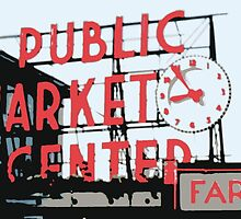 Pike Place Market by NordicBuckeye