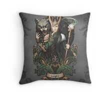 Sons of Mischief Throw Pillow