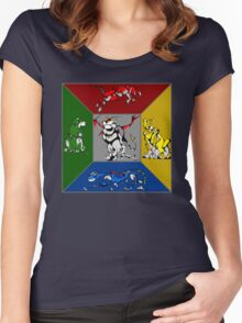 From Days of Long Ago.....Cubist Voltron Women's Fitted Scoop T-Shirt