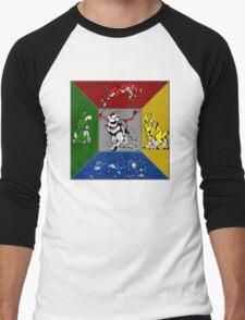 From Days of Long Ago.....Cubist Voltron Men's Baseball ¾ T-Shirt
