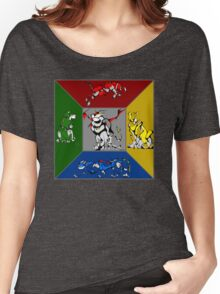 From Days of Long Ago.....Cubist Voltron Women's Relaxed Fit T-Shirt