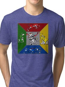 From Days of Long Ago.....Cubist Voltron Tri-blend T-Shirt