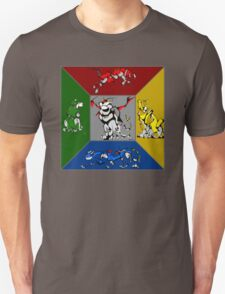 From Days of Long Ago.....Cubist Voltron T-Shirt