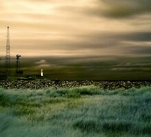 South Gare Lighthouse (IR, v2) by PaulBradley
