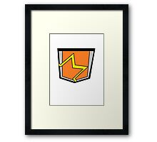Pocket Framed Print