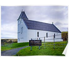 Uig Church Poster