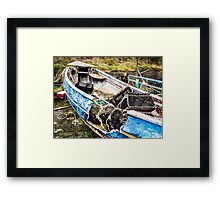 Lobster Boat Framed Print