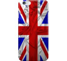 Wrinkled Union Jack Flag iPhone Case/Skin
