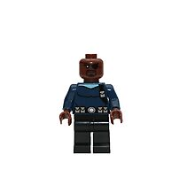 LEGO Nick Fury by jenni460