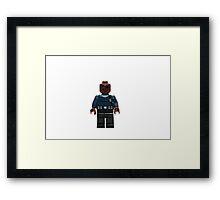 LEGO Nick Fury Framed Print