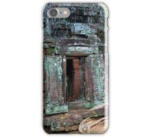 Ta Prohm Temple Ruins in Cambodia iPhone Case/Skin