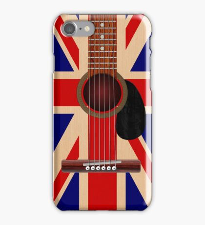 Union Jack Guitar iPhone Case/Skin