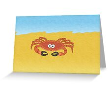 Claudia the Crab! Greeting Card