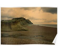 Seatown Cliffs  Poster