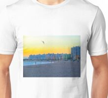 The end of a beach day in September Unisex T-Shirt
