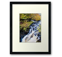 Glenbrittle Waterfall Framed Print