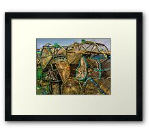 Skye Fishing Pots Framed Print