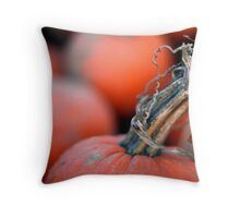 Curly Stem Throw Pillow