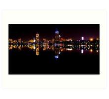 Boston, MA Skyline Art Print