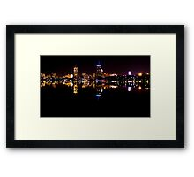 Boston, MA Skyline Framed Print