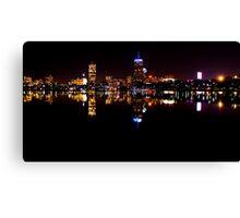 Boston, MA Skyline Canvas Print