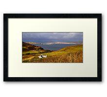 Skye Cottage Framed Print