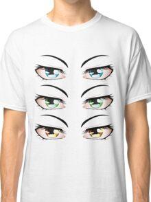 Cartoon male eyes 3 Classic T-Shirt
