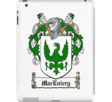 Mac Eniery (Ulster) iPad Case/Skin