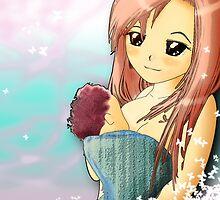 Orihimi as a mom by tweek