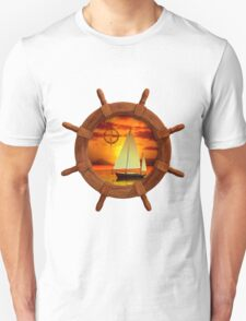 Sailboat Sunset T-Shirt