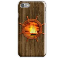 Sailboat Sunset iPhone Case/Skin