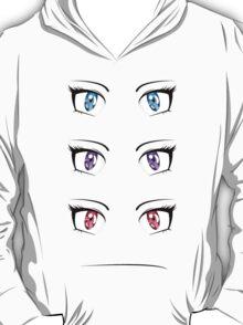 Cartoon female eyes 3 T-Shirt