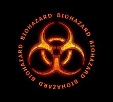 Biohazard Zombie Warning by Packrat