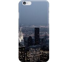 The City Never Sleeps iPhone Case/Skin