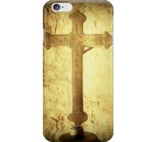 Cross at Mission San Buenaventura iPhone Case/Skin