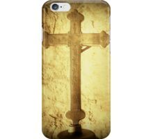 Cross at Mission San Buenaventura iPhone Case/Skin