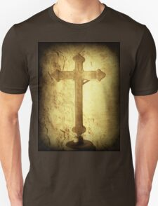Cross at Mission San Buenaventura T-Shirt