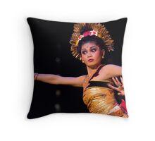 Bali's Ramayana Throw Pillow