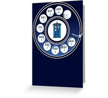Call the Doctor Greeting Card