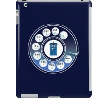 Call the Doctor iPad Case/Skin