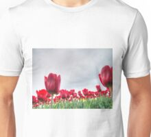 Red tulips 4 Unisex T-Shirt
