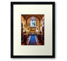 St Mary Kintbury Framed Print