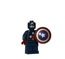 LEGO Captain America by jenni460