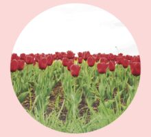 Red tulips 2 Kids Clothes