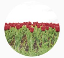Red tulips 2 Kids Tee