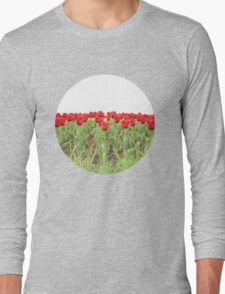 Red tulips 2 Long Sleeve T-Shirt