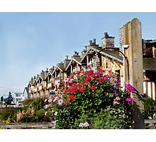 Flower Apartments Photographic Print