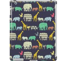 geo zoo iPad Case/Skin