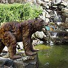 Fishing Bear by Merilyn